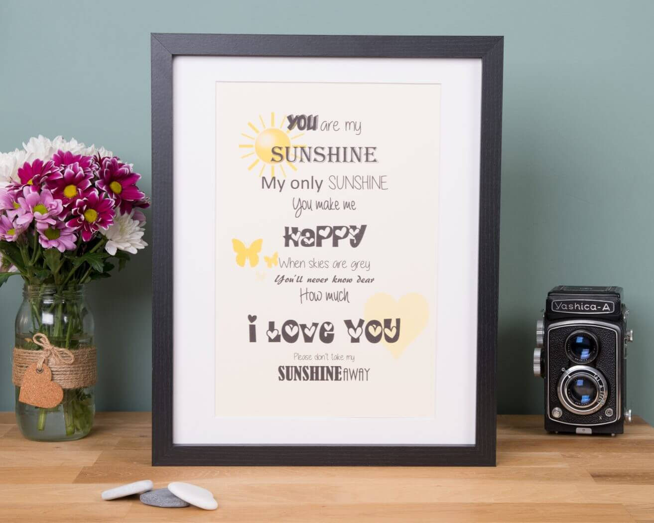 You Are My Sunshine Gift Frame Free Uk Delivery Little Gems Online