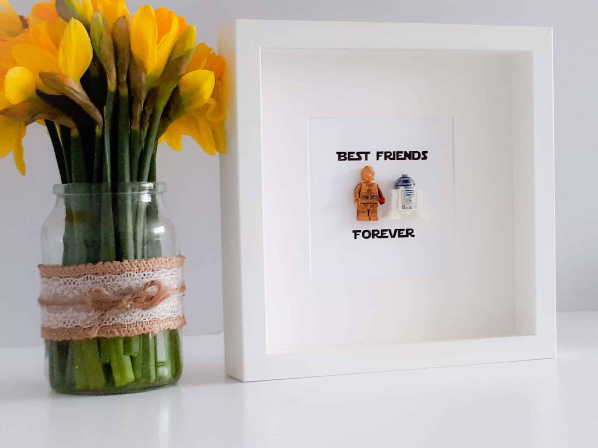 Star Wars Best Friends Forever Frame Free Uk Delivery Little